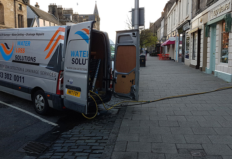 Commercial Properties Water Leak Detection