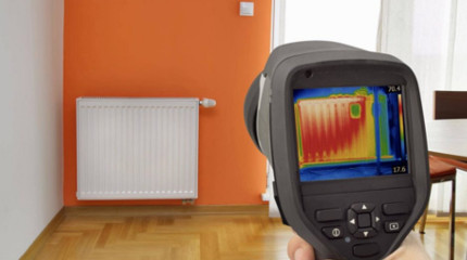 Central Heating Infrared Camera