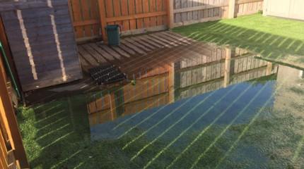 Water Leak Flooding